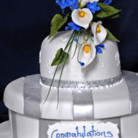 Anniversary & engagement cakes